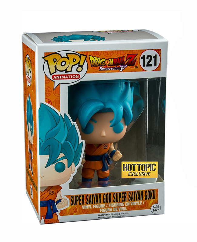 Pop Animation Dragonball Z Super Saiyan God Super Saiyan