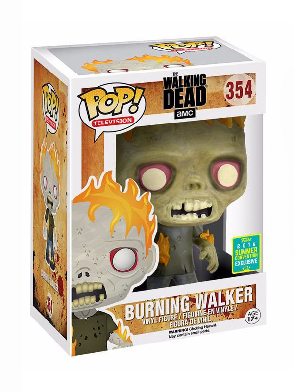 the walking dead burning walker 02
