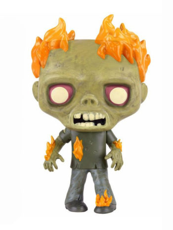 the walking dead burning walker