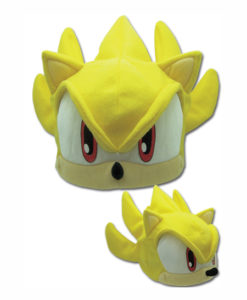 sonic the hedgehog super sonic fleece cap
