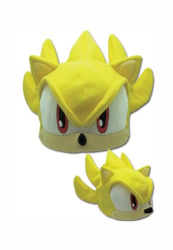 sonic the hedgehog super sonic fleece cap