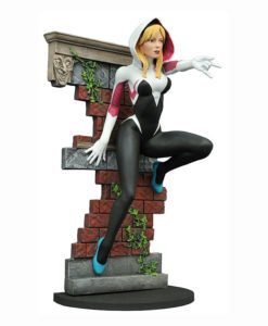 2016 sdcc marvel gallery spider gwen unmasked edition