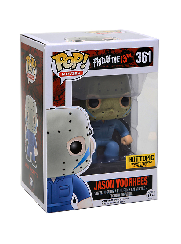 Pop Movies Friday The 13th Jason Voorhees Part V Blue