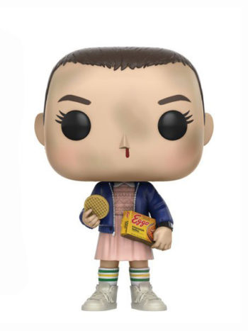 stranger things eleven with eggos