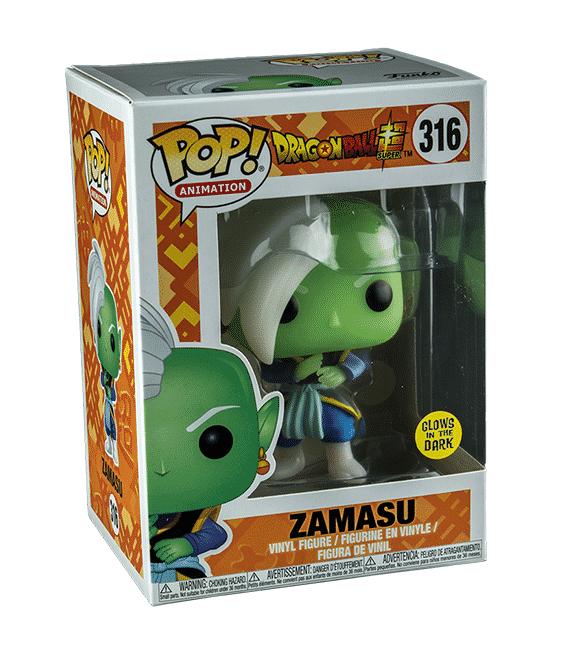 Pop Animation Dragon Ball Super Zamasu Glow In The Dark